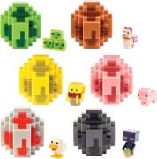 Mattel FMC85 Minecraft Spawn Egg Mini-Figuren Sortiment im Thekendisplay
