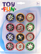 Toy Fun Laser Kreisel, 12 Stück