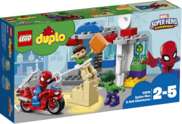 LEGO® DUPLO® 10876 Die Abenteuer von Spider-Man und Hulk