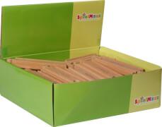 SpielMaus Holz Gerade, 11 cm