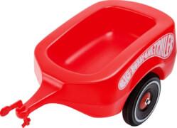 BIG Bobby-Car-Trailer, Kunststoff, bis 25 kg, ca. 50x24x29 cm, rot, ab 12 Monate