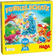 HABA - Funkelschatz, Kinderspiel des Jahres 2018, für 2-4 Spieler, ca. 15 min, ab 5 Jahren