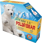 Shape Puzzle Junior Eisbär 100 Teile