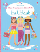 Anzieh-Stickerbuch IM URLAUB