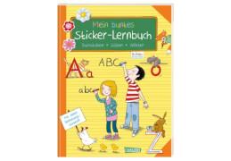 Schlau für die Schule: Mein buntes Sticker-Lernbuch: Buchstaben, Silben, Wörter