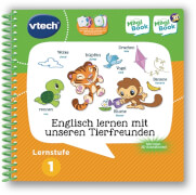 Vtech 80-462004 Lernstufe 1 -Englisch lernen Tierfreunde
