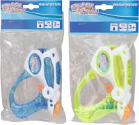 Splash & Fun Wasserpistole transparent, 16 cm, 2-fach sortiert