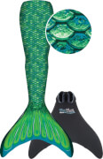 Fin Fun Meerjungfrau Mermaidens grün, L/XL
