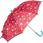 Sigikid 25149 Regenschirm Waschbär COLORI