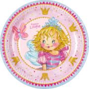 Die Spiegelburg 13628 Prinzessin Lillifee - Partyteller Ich bin Prinzessin aus Pappe (8 St.)